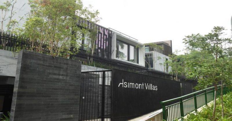 Radmyx s-a folosit pentru impermeabilizare fundatie la Asimont Villas din Singapore
